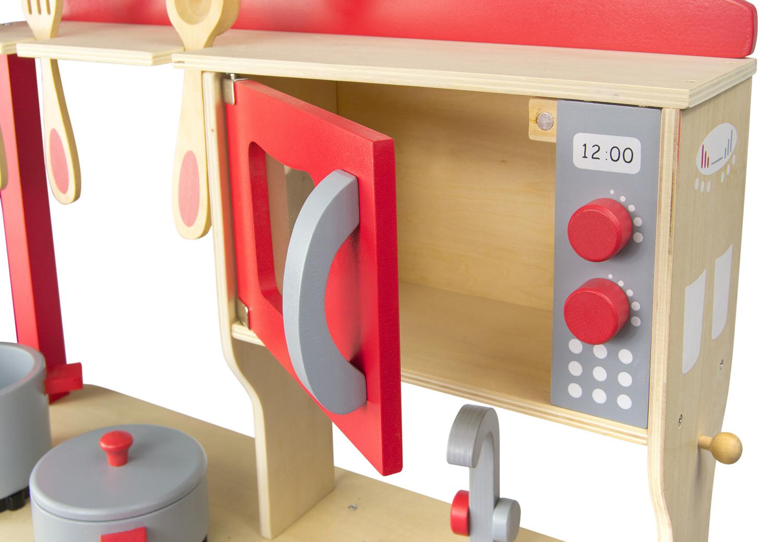 kinderk che aus holz mit zubeh r 102 240858. Black Bedroom Furniture Sets. Home Design Ideas