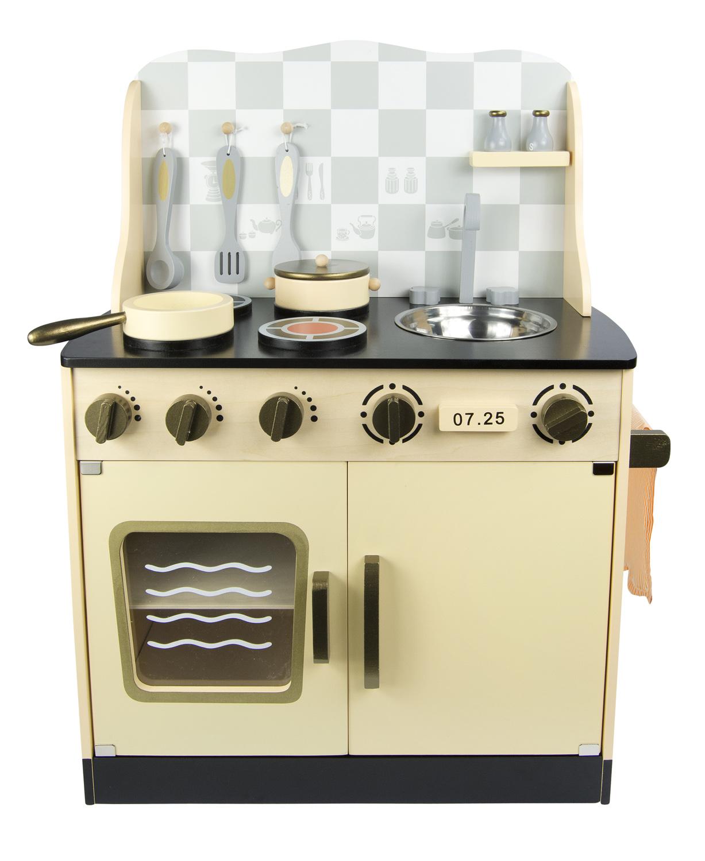 spielküche vintage aus holz leomark.de