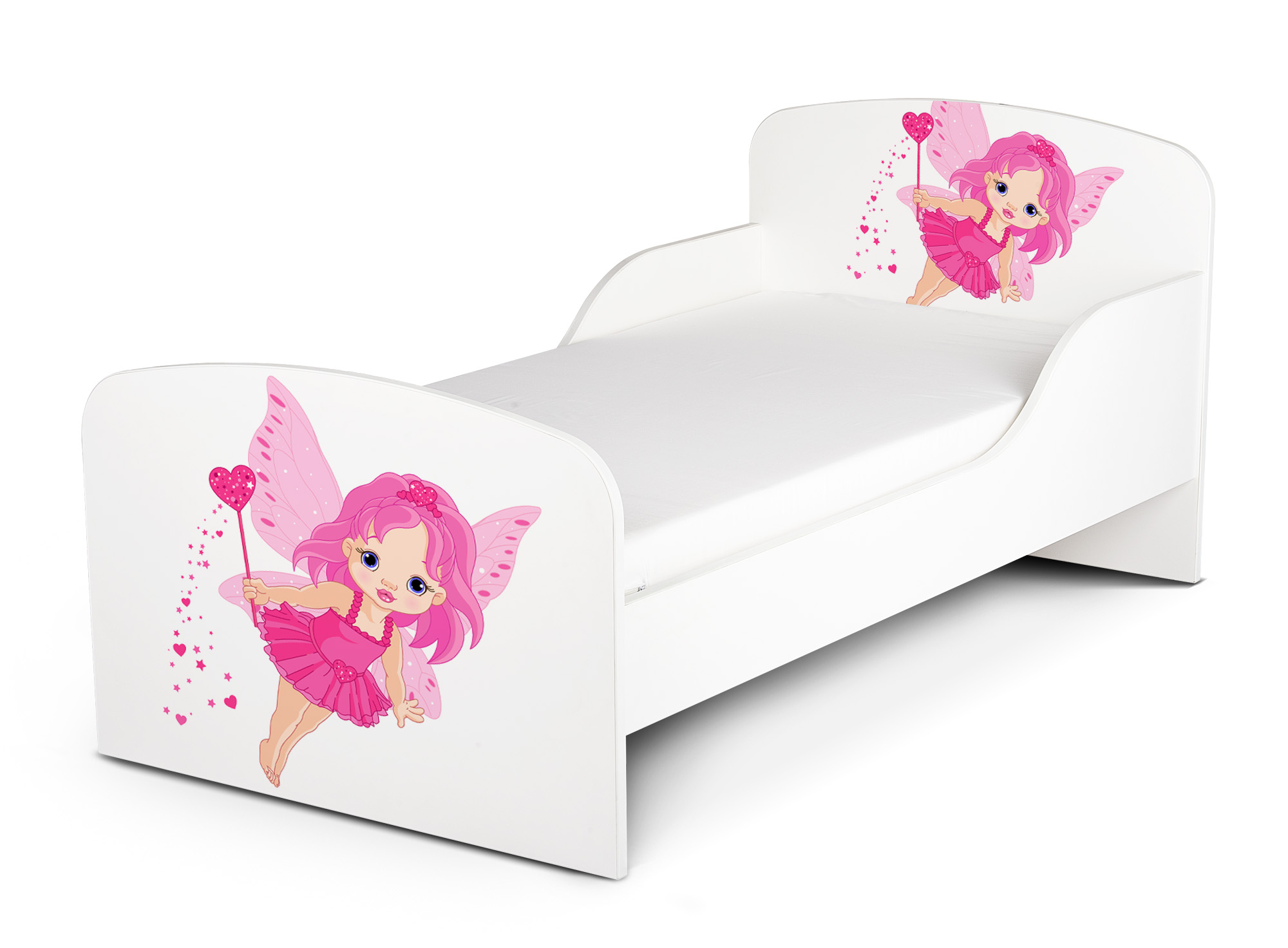 kinderbett 140x70 cm mit matratze thema gute fee. Black Bedroom Furniture Sets. Home Design Ideas